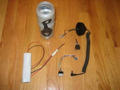 Светодиодные фонарь для велосипеда своими руками 96
