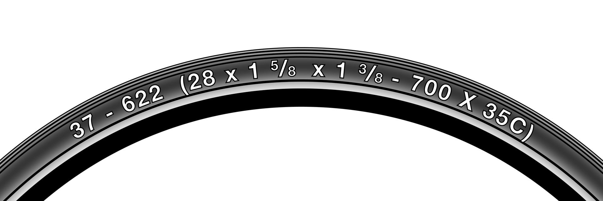Размер покрышек (маркировка)